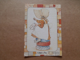 38161 PC: CHILDREN:  PLAYMATES -  A Stitch In Time. - Children