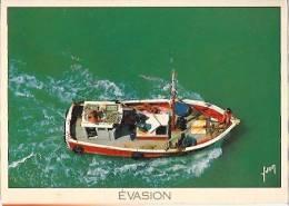 Bateau De Peche-evasion-cpm - Fishing Boats