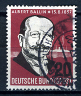 1957 - GERMANIA - GERMANY - DEUTSCHLAND - Mi. 266 - Used - [7] Repubblica Federale