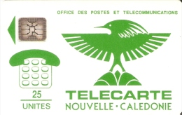 TARJETA DE NUEVA CALEDONIA DE 25 UNITES CHIP SC4 (LOGO) - Nouvelle-Calédonie