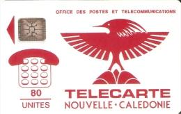TARJETA DE NUEVA CALEDONIA DE 80 UNITES CHIP SC4 (LOGO) - Nouvelle-Calédonie