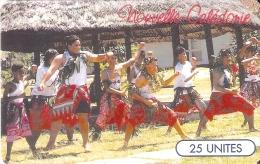 TARJETA DE NUEVA CALEDONIA DE 25 UNITES DE GRUPO FAIVA TIRADA 60000 - Nuova Caledonia