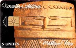 TARJETA DE NUEVA CALEDONIA DE 5 UNITES DE PAYS PAICI-CEMUHI  TIRADA 5000 DEL 10/94 - Nuova Caledonia