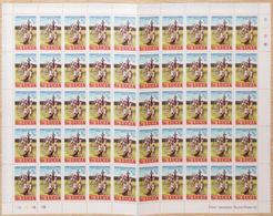 0346 - SANTA LUCIA, FOGLIO COMPLETO 1/2 C - St.Lucia (1979-...)