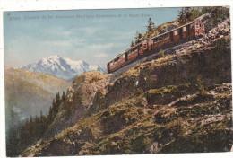 8789   Chemin  De  Fer  électrique  Martigny-Chamonix  Et  Le  Mont Blanc - VS Valais