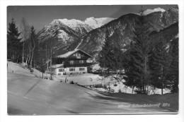 Mittenwald, Gasthaus Gletscherschliff, 1956. Kleinformat - Mittenwald