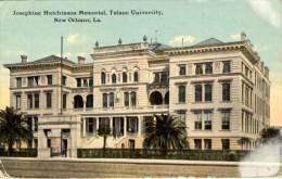 Josephine Hutchinson Memorial - Tulane University - New Orleans - New Orleans