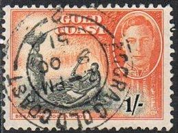 Gold Coast SG143 1948 Definitive 1/- Good/fine Used - Gold Coast (...-1957)