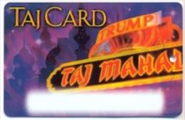 Trump Taj Mahal Casino,  U.S.A.  used slot or players card, trump-30a