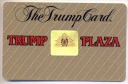 Trump Plaza Casino, Atlantic City, NJ, U.S.A., older used slot card, trump-38