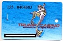 Trump  Casino, Buffington Harbor, IN, U.S.A., older used slot card, trump-39