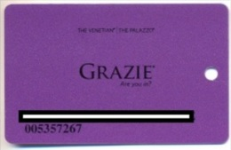 The Venetian Casino. Las Vegas, NV, U.S.A., used slot card, venetian-4