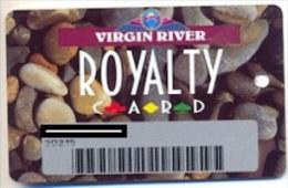 Virgin River Casino, Mesquite, NV,  U.S.A., older used slot or player�s card,  virginriver-2
