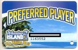 Wheeling Island Casino, Wheeling, West Virginia, U.S.A. older used  slot card, wheelingisland-2
