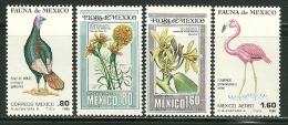 """Mexico    """"Fauna & Flora""""     Set    SC# 1195-C32-33  MNH** - Mexico"""