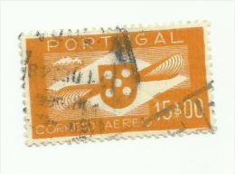 Portugal Poste Aérienne N°8 Cote 9 Euros - Poste Aérienne