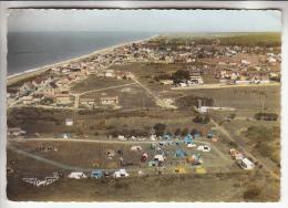 AGON LE PASSOUS 50 - Le Camping Et Les Villas - Jolie CPSM Dentelée Colorisée GF 1962 Peu Fréquente - Manche - Autres Communes