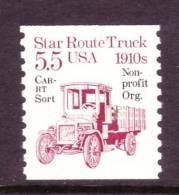 U.S. 2125a   **  STAR ROUTE TRUCK - Coils & Coil Singles