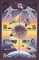 U.S. 2631-34   **   SPACE - United States