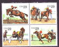 U.S. 2756-59   **   SPORTING HORSES - United States