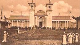 "EXPOSITION UNIVERSELLE DE BRUXELLES 1910-""PAVILLON DU COLONIES FRANÇAISES CIRCULEE CIRCA 1910 TIMBRE ARRACHES-GECKO. - Exposiciones Universales"