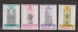 Tokelau 1978 QEII Coronation set 4 MNH
