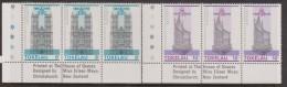 Tokelau 1978 QEII Coronation 2 lower values Imprint strips 3 MNH