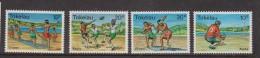 Tokelau 1978 Sport set 4 MNH