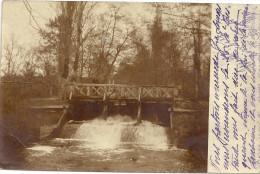 CPA DOS SIMPLE DE 1902 A IDENTIFIER - Un Pont de Bois - ENCH -