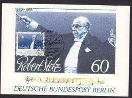 Berlin 1980 Robert Stolz 1v Maximum Card (17598) - [5] Berlijn