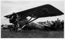 45 - Montargis -  Carte Photo - ** Montargis Aviation - Avion - Foule ** - édit, Photo - Jean Lemoine à Montagis - TB. - Montargis