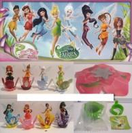 Komplettsatz Disney Fairy Fairies Tinker Bell FF180-187 +all BPZ Aus Russia - Diddl