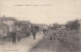 CPA - La Giberie - L'entrée Du Village En Venant D'Eclance - Francia