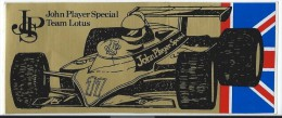 Cigarettes/John Player Special/Team LOTUS/  Vers 1980    ACOL67 - Stickers