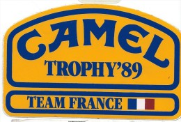 Cigarettes/Camel / Team France / Trophy'89./  1989   ACOL66 - Stickers