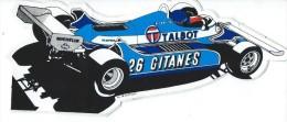 Cigarettes/Gitanes / Talbot/ LafitteMatra/Michelin/ / Vers 1985   ACOL68 - Stickers