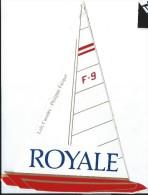 Cigarettes/Royale / Voile/ F-9/ Loïc Caradec /Philippe Facque/ / Vers 1985     ACOL70 - Stickers