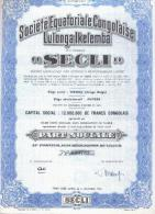 "Société Equatoriale Congolaise Lulonga Ikelemba ""SECLI"" - Afrique"
