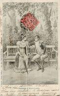 CPA ILLUSTRATEUR , éditeur CHARIER ,MEJANEL ,  Napoléon Et Marie-louise - Illustrators & Photographers