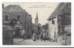 La Chapelle Au Grain  -  Rue De L'Eglise - Autres Communes