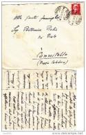 LUOGOTENENZA Imperiale Siena  Per Cannitello  Villa San Giovanni Reggio Calabria + TESTO - Storia Postale