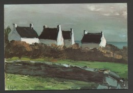 France Peintre George LAPORTE - Toile De 1926  :  En Bretagne  / ( CPSM Non Circulée - Unused ) - Peintures & Tableaux