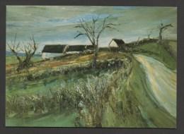 France Peintre George LAPORTE - Toile De 1926  :  Chemin En Bourgogne / ( CPSM Non Circulée - Unused ) - Peintures & Tableaux
