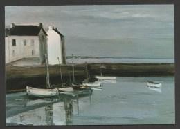France Peintre George LAPORTE - Toile De 1926  :  En Bretagne ( Port Haliguen ) / ( CPSM Non Circulée - Unused ) - Peintures & Tableaux