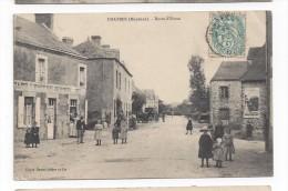 Chatres   -  Route D'Evron - France