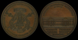 M01752 ALMA TICINENSIS - UNIVERSITAS - ATHENAE INSUBRICAE RESTITUTAE 1953  (59.6g) Université Au Revers - Italie