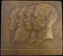 M01760 DYNASTIE BELGE - LEOPOLD I - LEOPOLD II - ALBERT I - LEOPOLD III (168.9g) - Royal / Of Nobility