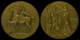 M01761 EXPOSITION UNIVERSELLE DE BRUXELLES 1910 (117.9g) Allégorie Au Revers - Belgium