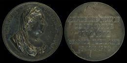 AG01765 MARIA TERES AVG. -  ACADEMIE ROYALE DE BELGIQUE 1772 - 1972 SEANCE JUBILIARE 15 MAI 1973(Ag 50 - 20.1g) - Royaux / De Noblesse