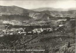 BIVIGLIANO, PANORAMA VISTO DA MONTE SENARIO - B/N -   VIAGGIATA      10X15 - Firenze